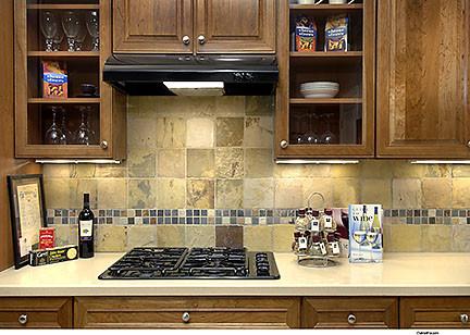 Del Webb Sierra Canyon traditional-kitchen