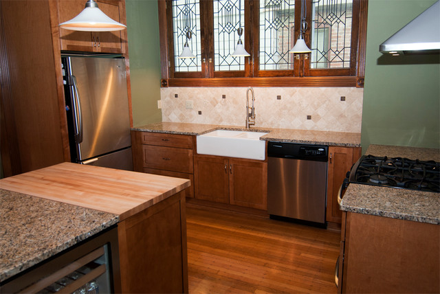 Delaware total house renovation traditional-kitchen