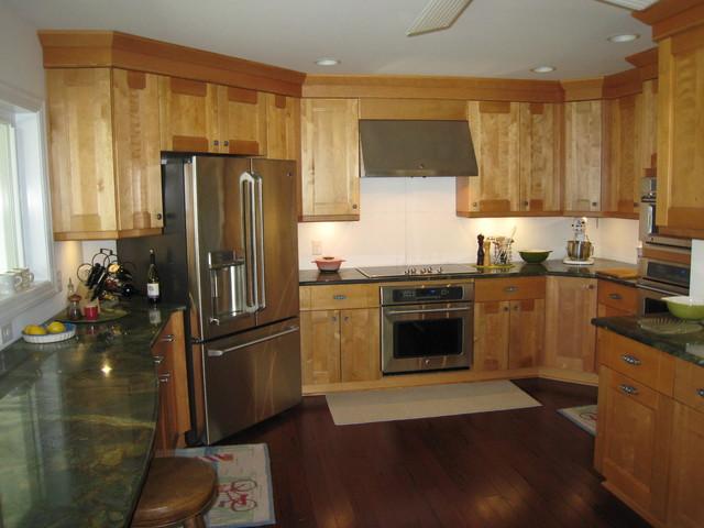 Deltaville Va. tornado blows away house. traditional-kitchen