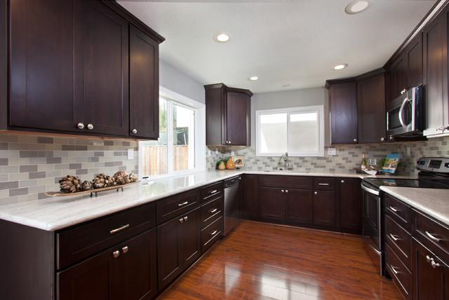 Delucchi Drive, Pleasanton contemporary-kitchen