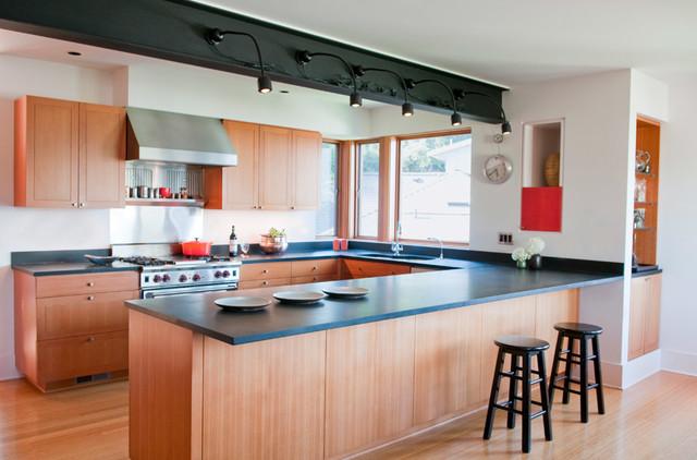 Denny Blaine Remodel contemporary-kitchen