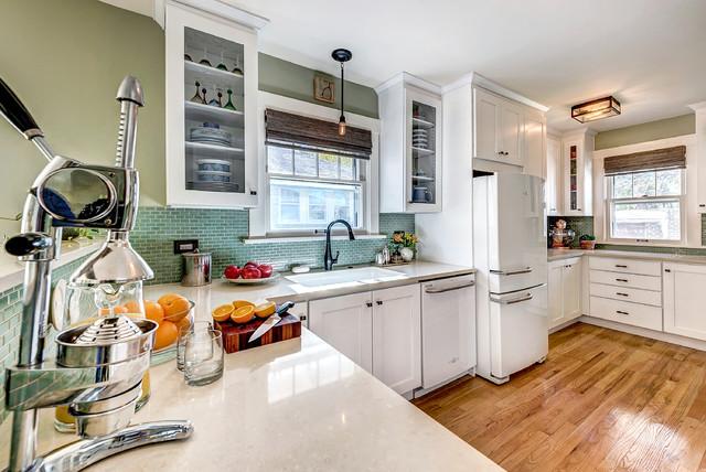 Denver Bungalow - Craftsman - Kitchen - Denver - by Gather ...