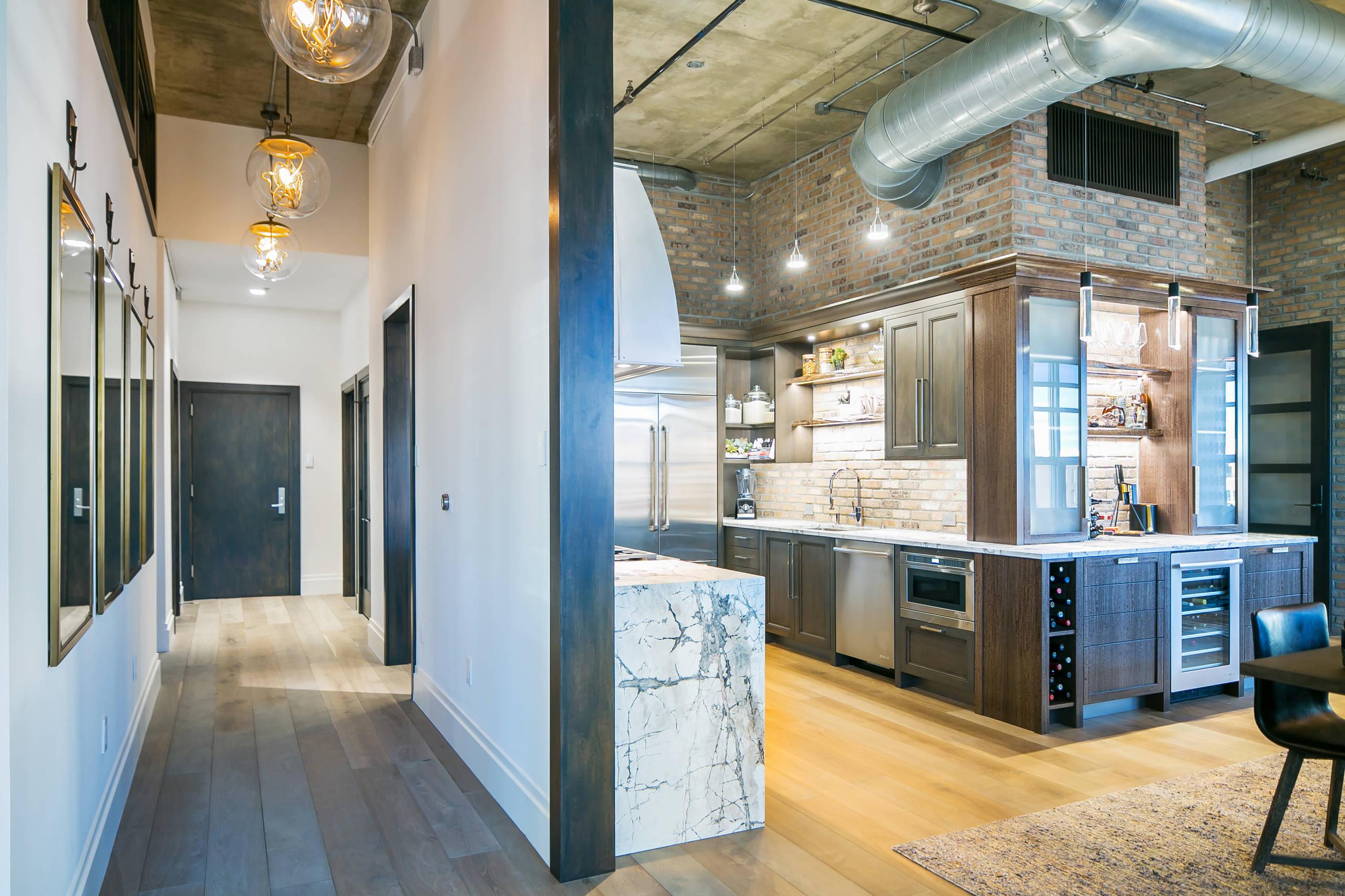 Denver Colorado Residence Loft Style KITCHEN
