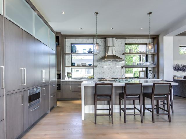 Denver Design Showhome Contemporary Kitchen Denver By Teri Fotheringh