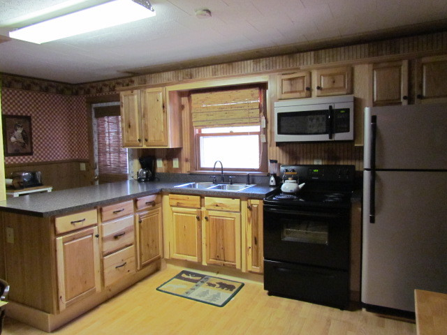 Denver hickory kitchen counoyer after traditional for Kitchen cabinets denver