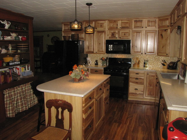 Denver Hickory, Stock - Sweigart - Traditional - Kitchen - other metro - by Lowe's of Lewistown, PA