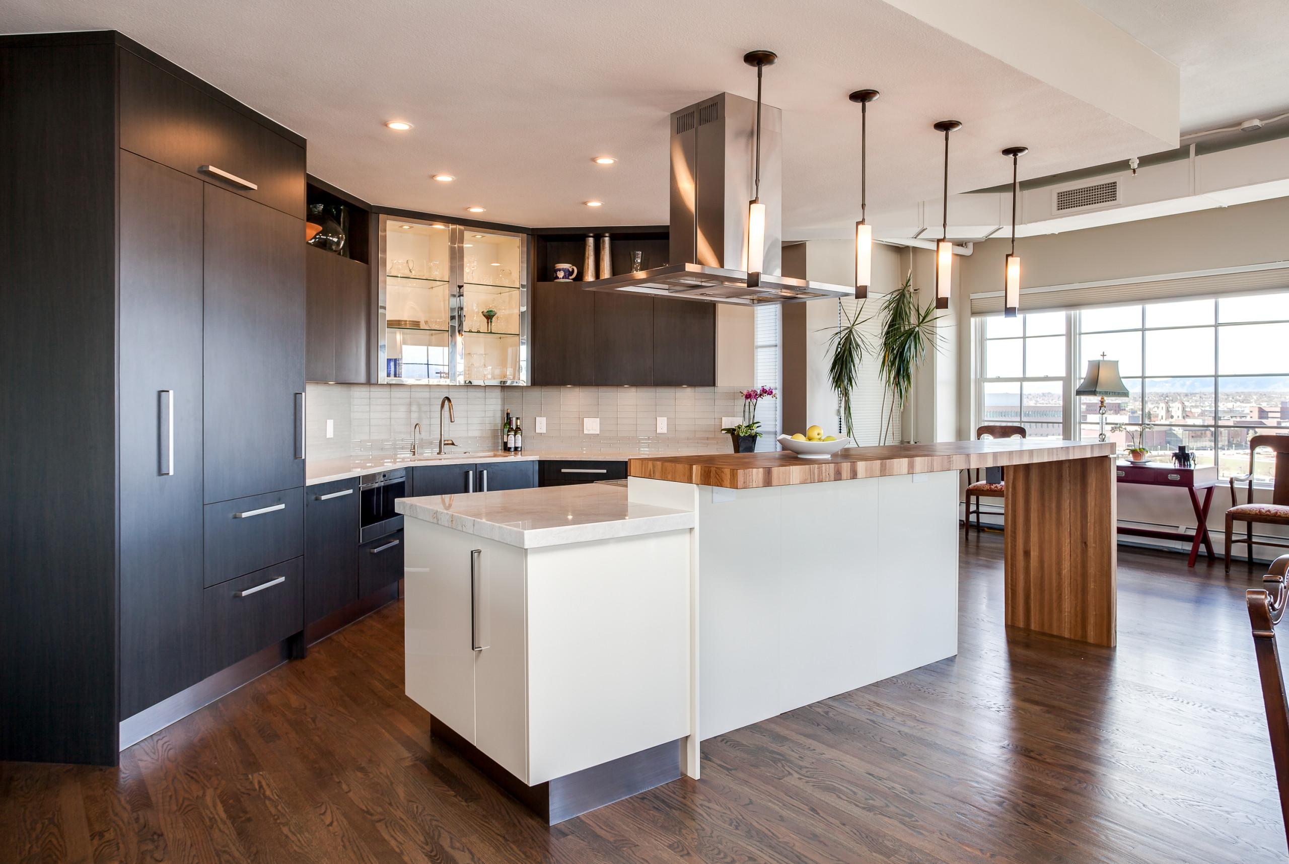 Denver Palace Loft Kitchen Remodel in LoDo