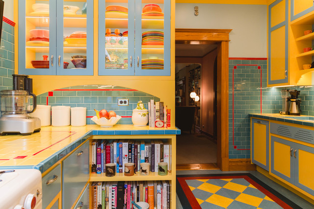 Depression-Era Art Deco Style Inspires a Chicago Kitchen
