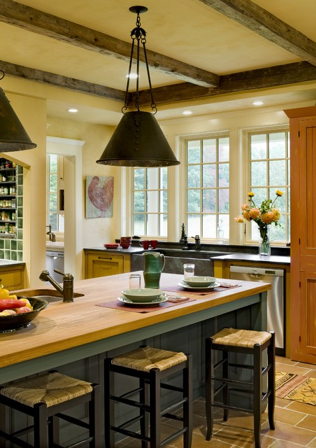 Derby Hill Farm Lyme NH traditional kitchen
