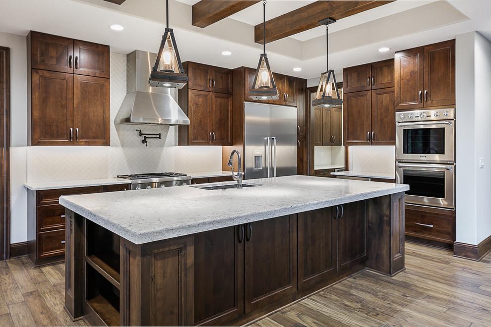 Des Moines Craftsman - Craftsman - Kitchen - Omaha - by ...