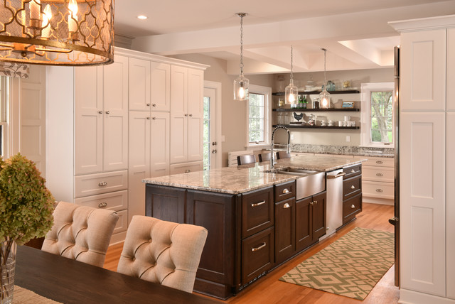 Des moines ia waterbury kitchen amp dining eclectic traditional