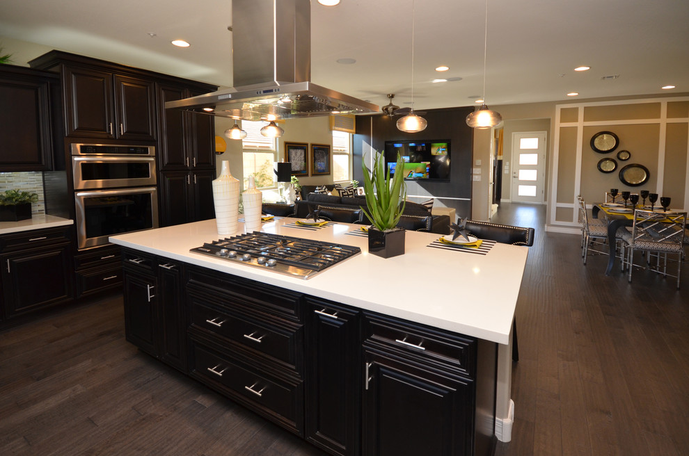 Desert Ambition Vistancia Peoria Az 3593 Hope Contemporary Kitchen Phoenix By Shea Homes Arizona