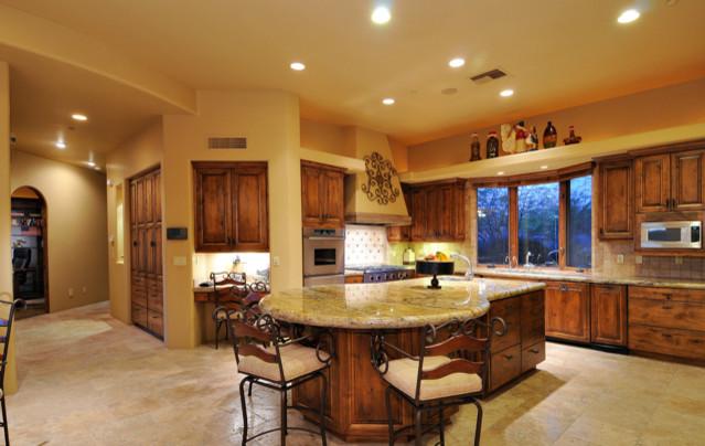Desert Highlands Lot 434 traditional-kitchen