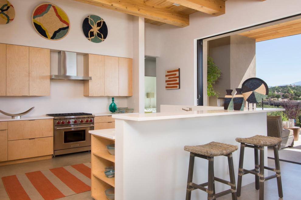 Southwest kitchen photo in Albuquerque