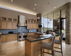 Pass Residence contemporary kitchen