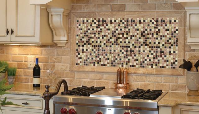 Desert Sunset Mosaics Under The Hood Traditional Kitchen