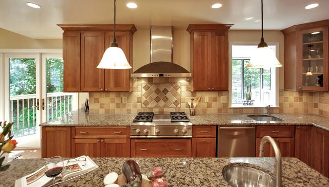 Design-Build traditional-kitchen