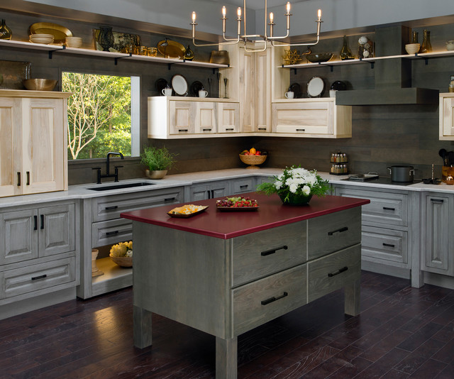 Design Ideas by Wellborn Cabinetry - Rustic - Kitchen ...