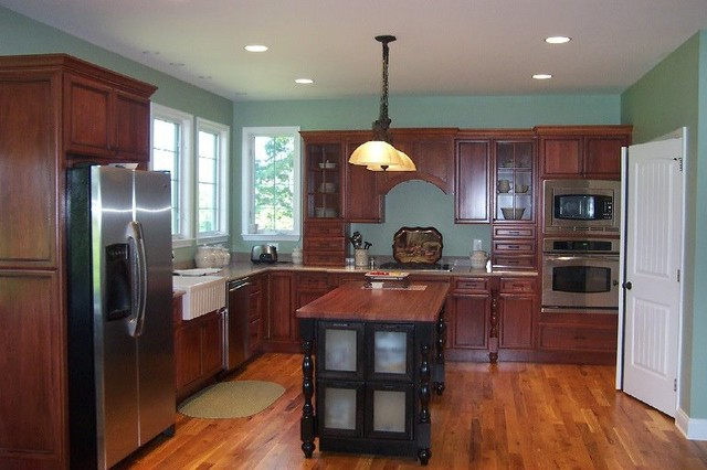 Design in southern md for Southern kitchen design
