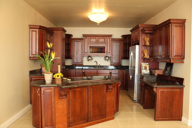 Design On A Budget Transitional Kitchen Miami By