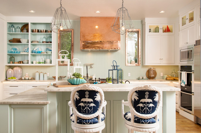 Designer showhouse beach style kitchen oklahoma city - Interior designers oklahoma city ...