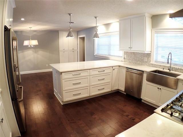 Bon Designers Choice   Briarwood   Painted White   Maitland Kitchen, Orlando