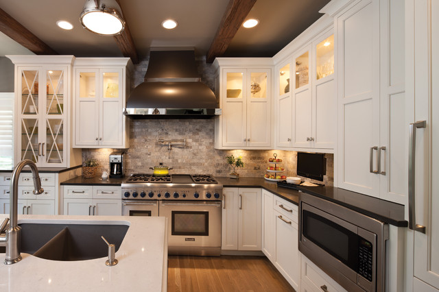 Destined to be a classic kitchen by dura supreme for White classic kitchen cabinets