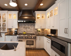 """Destined to be a Classic"" Kitchen by Dura Supreme Cabinetry traditional-kitchen"