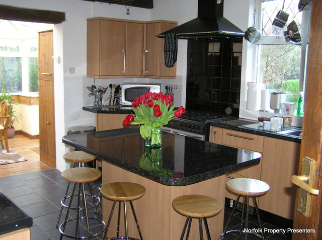 Detached House contemporary-kitchen