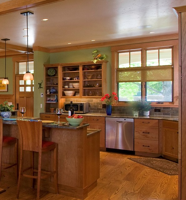 Detailed Craftsman Home - Craftsman - Kitchen - wilmington - by WW Builders Design/Build Associates
