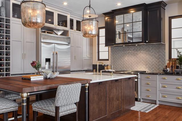 Detailed Decadence Kitchen | Astro Design | Ottawa, Canada ...
