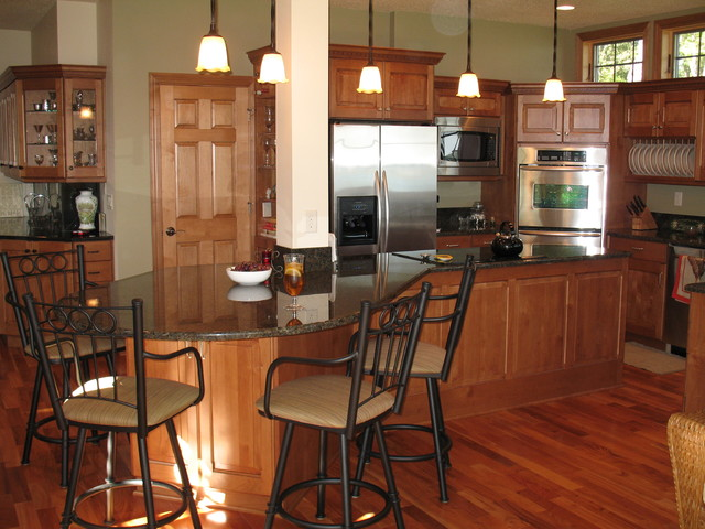 Detroit Lakes Residence traditional kitchen
