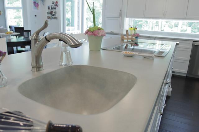 Devine Concrete Countertop contemporary-kitchen