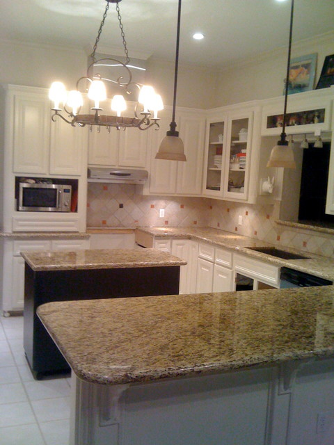 dewberry kitchen remodel granite amp painted cabinets
