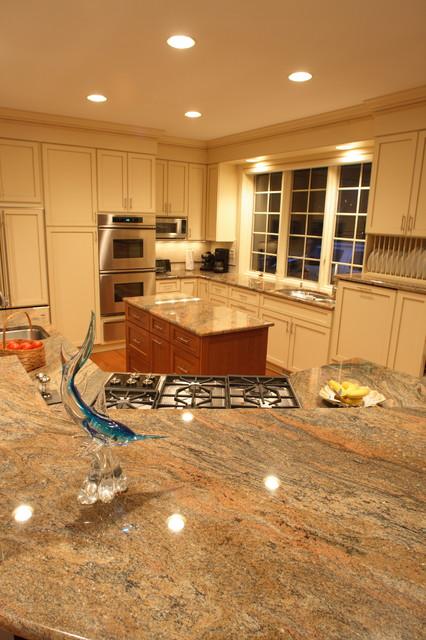 Beach House Kitchen 1 transitional-kitchen