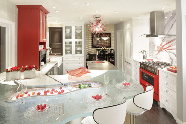 dewitt designer kitchens - country - kitchen - los angeles -
