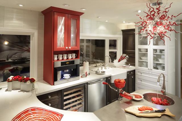dewitt designer kitchens contemporary kitchen los