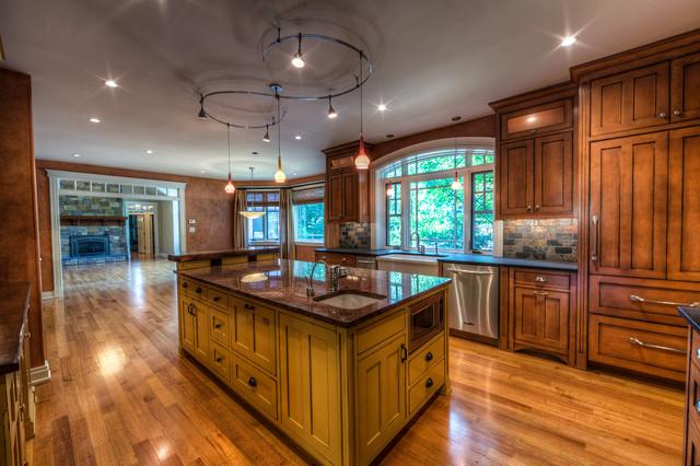 Dewitt Renovation Kitchen Craftsman Kitchen Other