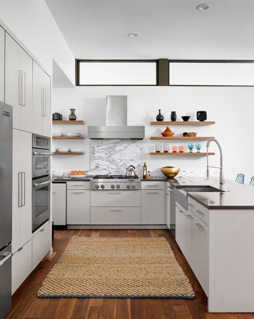 Dexter Residence midcentury-kitchen