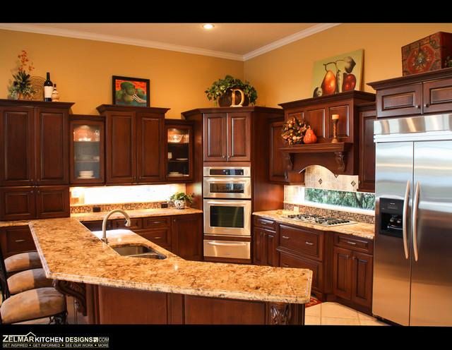 Dey cabico zelmar kitchen remodel traditional - Zelmar kitchen designs orlando fl ...