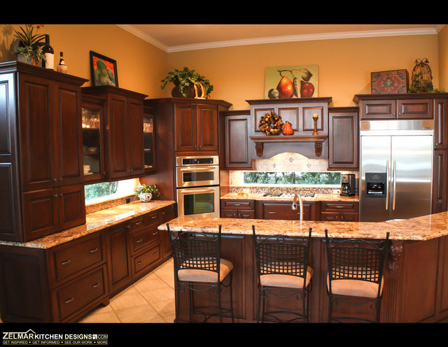 Dey Cabico Zelmar Kitchen Remodel Traditional Kitchen Orlando By Zelmar Kitchen