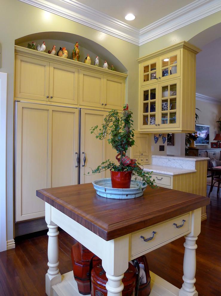 Diablo Historic Mansion - Traditional - Kitchen - San ...