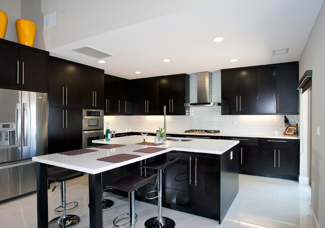 Diamond Bar Whole House Renovation and 2nd Floor Addition contemporary-kitchen