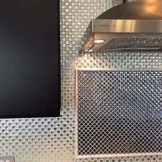 diamond bling kitchen backsplash