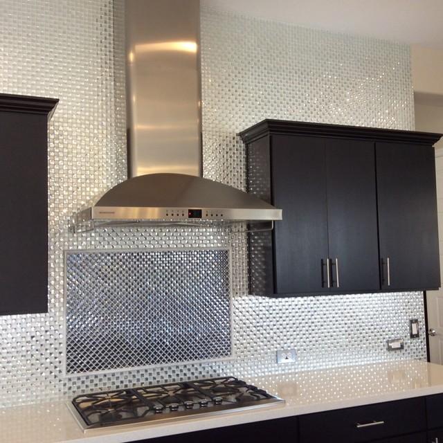 diamond bling kitchen backsplash modern kitchen