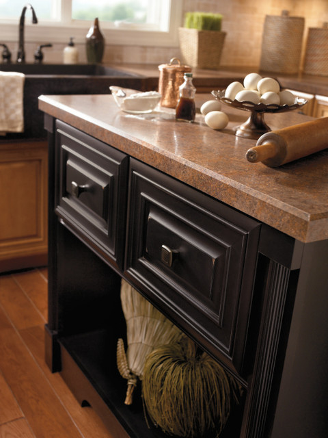 picture kitchen cabinets cabinetry galena maple heirloom black 1483