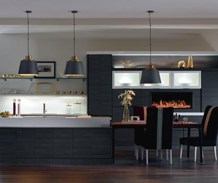 Inspiration for a contemporary kitchen remodel