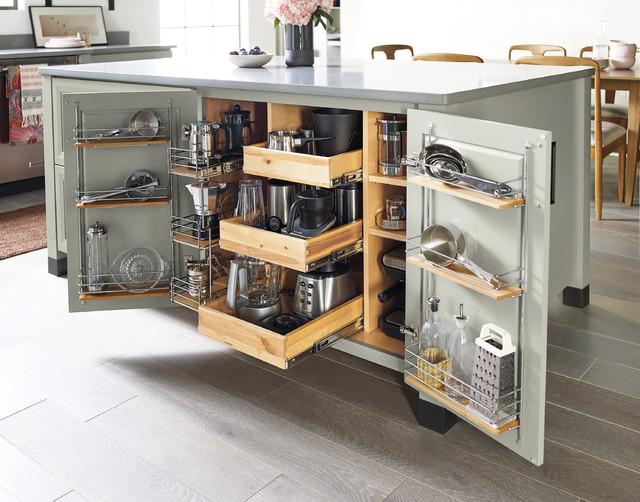 Diamond Cabinets Kitchen Island Storage Transitional Kitchen Other By Masterbrand Cabinets Inc
