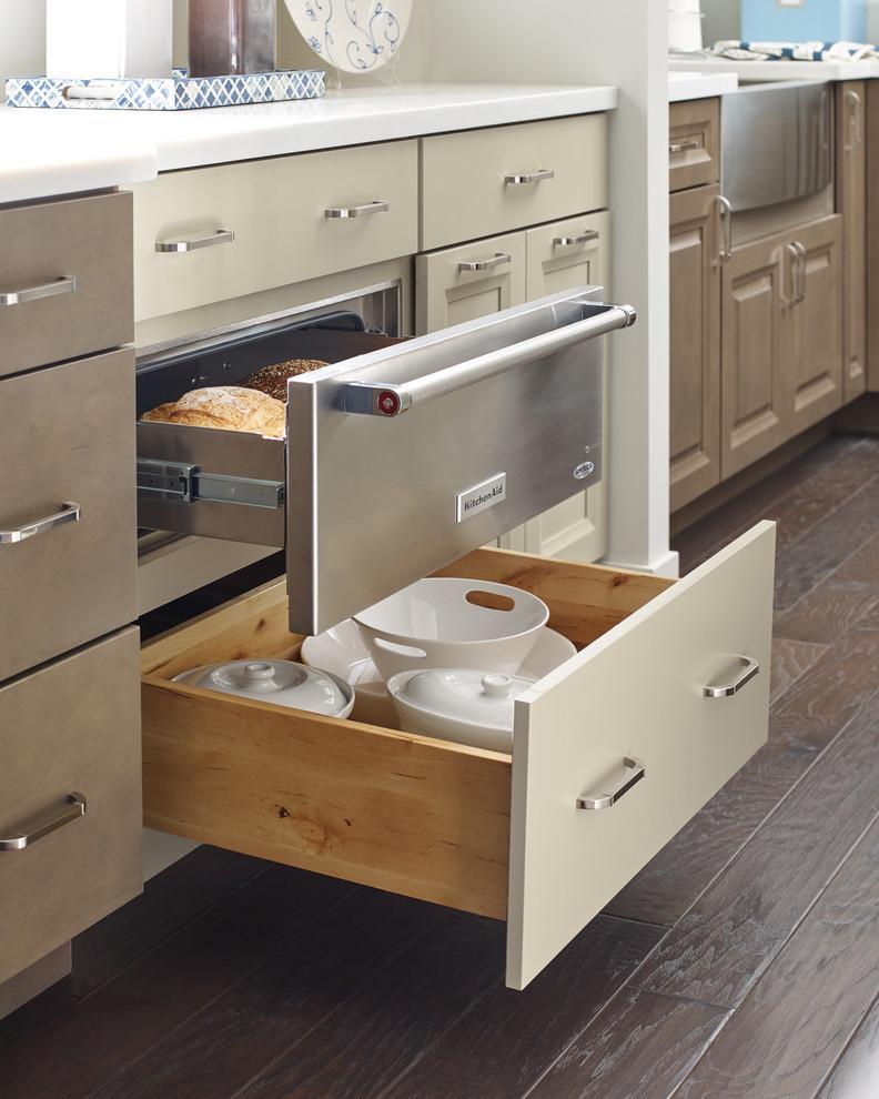 Diamond Cabinets: Warming Drawer Base Kitchen Cabinet ...
