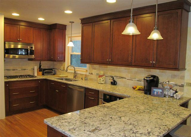 Diamond Cabinets with Cambria Praa Sands